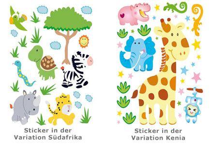 Kinderzimmer Gestalten Afrika by Kinder Wandtattoos Afrika Sorgen F 252 R Abwechslung Im