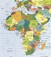 Political Map of Africa - Worldatlas.com