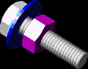anchor bolt  dwg model  autocad designs cad