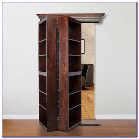 Hinged Bookcase by Hinged Bookcase Door Bookcase Home Design Ideas