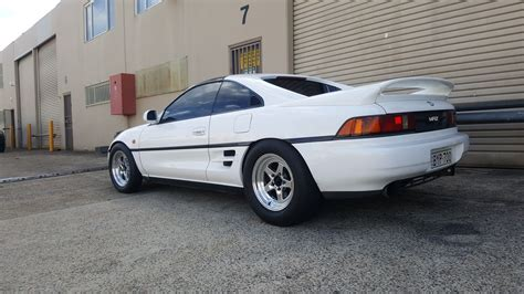 a toyota toyota mr2 with a turbo k24 engine swap depot