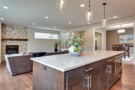 islands for the kitchen gorgeous se portland new construction woodstock 4856