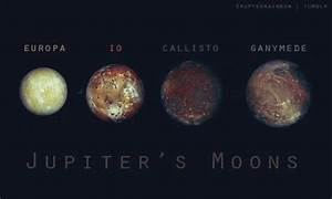 Jupiter and it's moons « KaiserScience