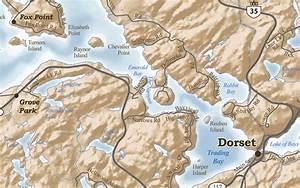 Lake of Bays Kawagama Lake Map