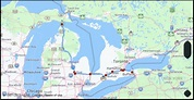 What is the drive distance from Niagara Falls On Canada to ...