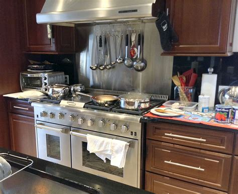 thor 48 inch professional gas range with griddle