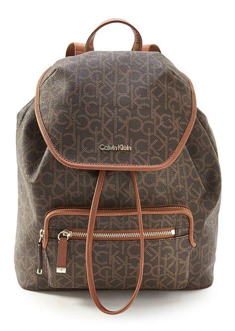 calvin klein calvin klein monogram backpack handbags
