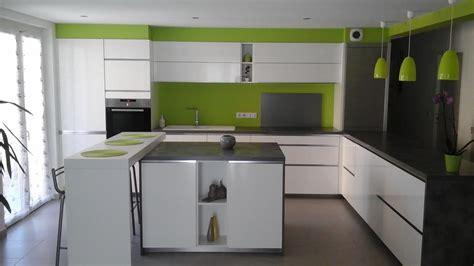 exemple de cuisine en u modèle de cuisine moderne idées créatives pour la maison