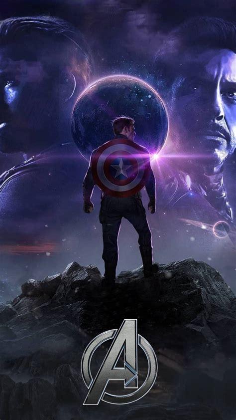 avengers endgame captain america titan planet iphone
