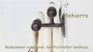 Landhaus Online Shop : badezimmer armaturen handtuchhalter landhaus dekoration in online shop youtube ~ Indierocktalk.com Haus und Dekorationen