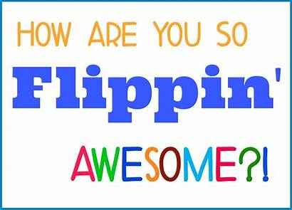 Flippin Awesome Printable Thank Tag Gift Appreciation