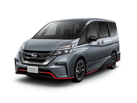 New Nissan Serena Nismo Arrives On Japan's Roads Carscoops