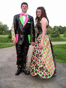 worst prom photos: One final duct tape prom dress | Prom ...