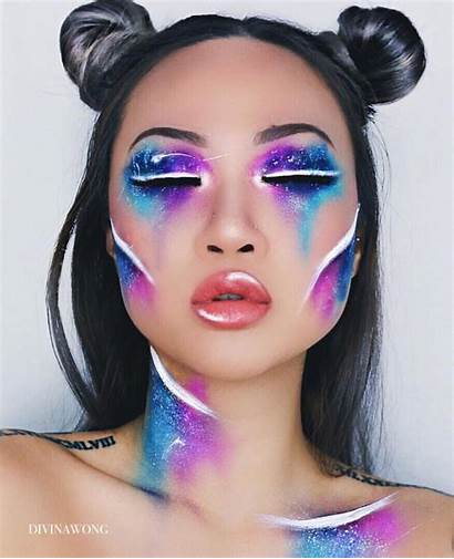 Makeup Halloween Futuristic Artistic Costume Creative Looks