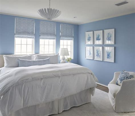 Blue And White Coastal Bedroom  Melanie Turner Interiors