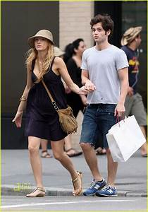 Full Sized Photo of blake lively penn badgley squeeze play ...