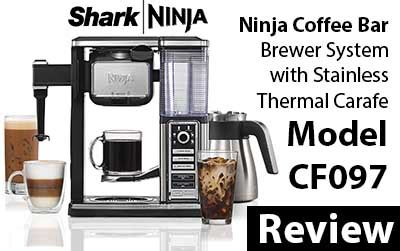 Buy online get free delivery on orders $45+. Ninja Coffee Bar Brewer System with Stainless Thermal Carafe CF097 Review - Espresso Guru