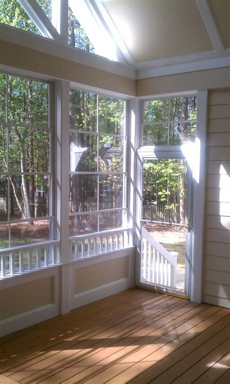 wall screened porches  envision built porch