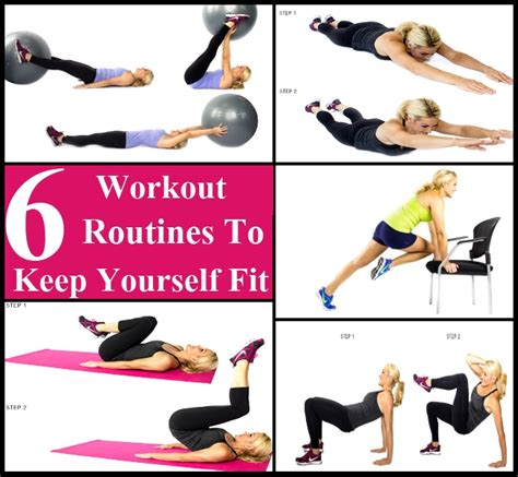 6 Must Try Workout Routines To Keep Yourself Fit Diy