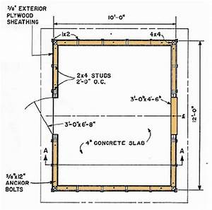 Shed Blueprints 10 U00d712  U2013 Plans For Building Your Lean To