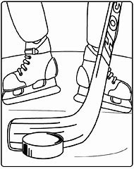 Best Hockey Coloring Pages Ideas And Images On Bing Find What