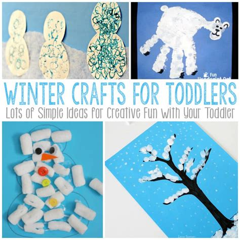 winter arts and crafts for preschoolers simple winter crafts for toddlers easy peasy and 417