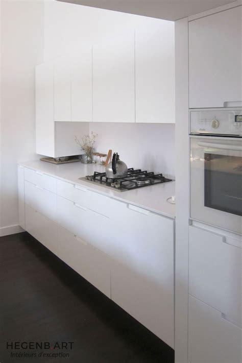 cuisine laque blanc cuisine moderne blanc laqué hegenbart