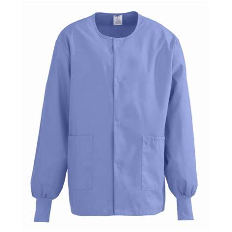 ciel blue scrub walmart medline comfortease warm up jackets ciel blue
