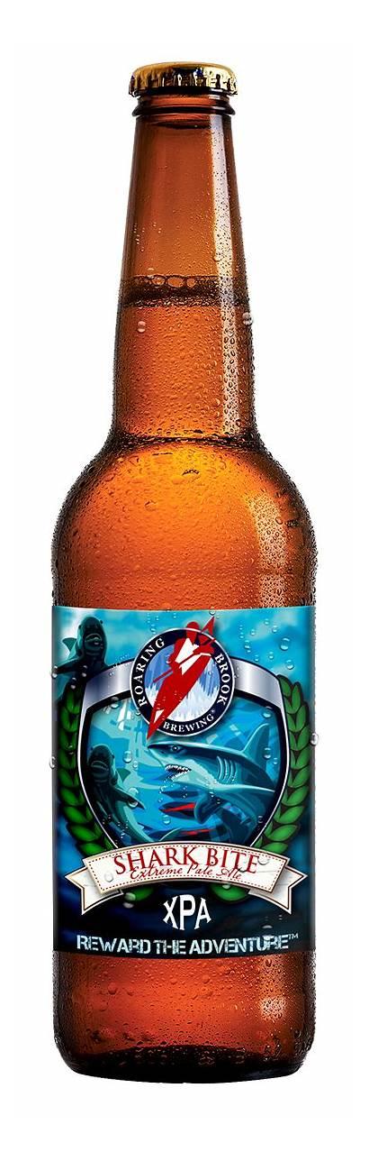 Shark Bite Beer Xpa Bottle Roaring Brook