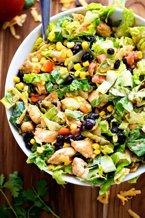 tex mex chicken chopped salad life   lofthouse