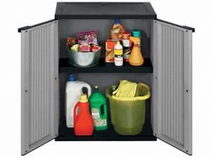 Armoire Rangement Plastique : armoire rangement ext rieur interieur en plastique contact rangestock ~ Teatrodelosmanantiales.com Idées de Décoration