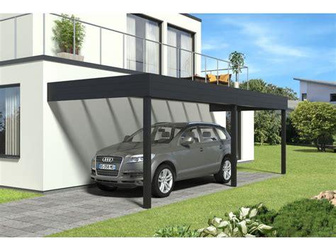 glass l carport aluminium adosse talis 6 x 3 5 m direct abris