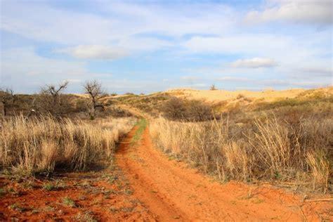 red dirt landscape  oklahoma  stock photo public