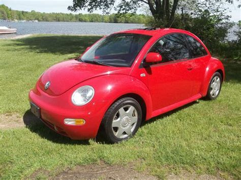 find used 2000 volkswagen beetle gls hatchback 2 door 1 8l turbo 31 mpg sunroof leather in perry