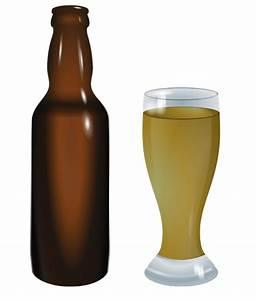 Spilled Beer Bottle Clipart (11+)
