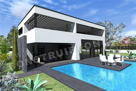 plan maison 4 chambres suite parentale vente de plan de maison contemporaine