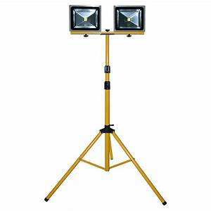W led construction lighting with tripod stand