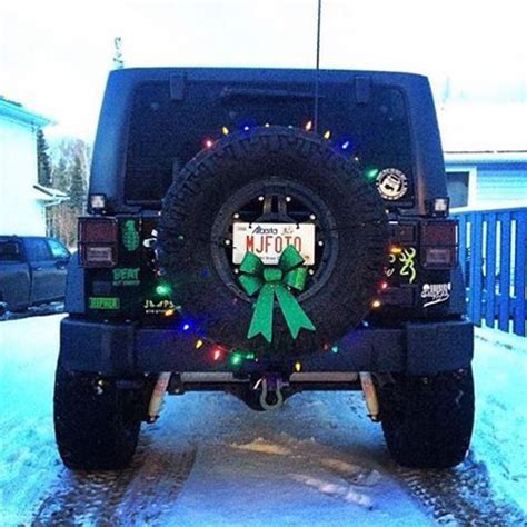 christmas jeep decorations pinterest the world s catalog of ideas