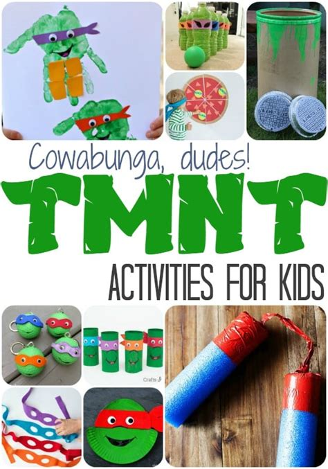 mutant turtle activities moments with 728 | TMNT Activities for Kids