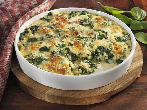 spinat polenta auflauf mit feta fraenkische rezepte