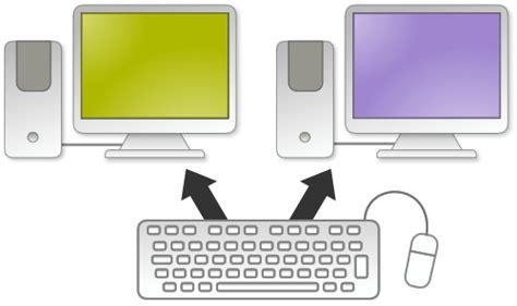 jedna myszka i klawiatura na dwa komputery jak to zrobić