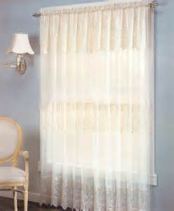 curtain panel with attached valance curtain bath