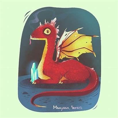 Dragon Firedrake Cartoon Funny