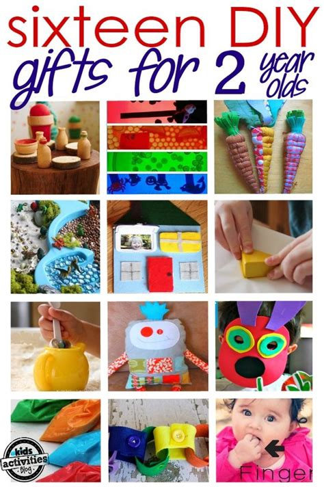 16 adorable homemade gifts for a 2 year old homemade