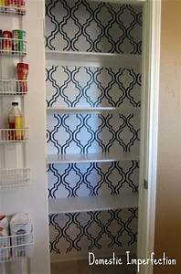 23 best images about pantry doors on pinterest With best brand of paint for kitchen cabinets with sticker stencil letters