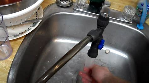 Remove Sink Faucet by Water Changer 15 Gallon Water Change In Ten Minutes Youtube