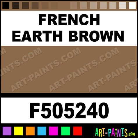 earth brown model acrylic paints f505240