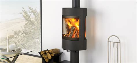 We manufacture both modern scandinavian design wood houses and classic style country homes. A contemporary wood burner with a Scandinavian twist... - Dovre Stoves
