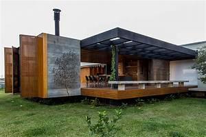 Mf  Arquitetos Completes Casa Mcny In Franca  Brazil
