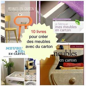 10 livres pour faire des meubles en carton cartonrecup With comment faire des meubles en carton